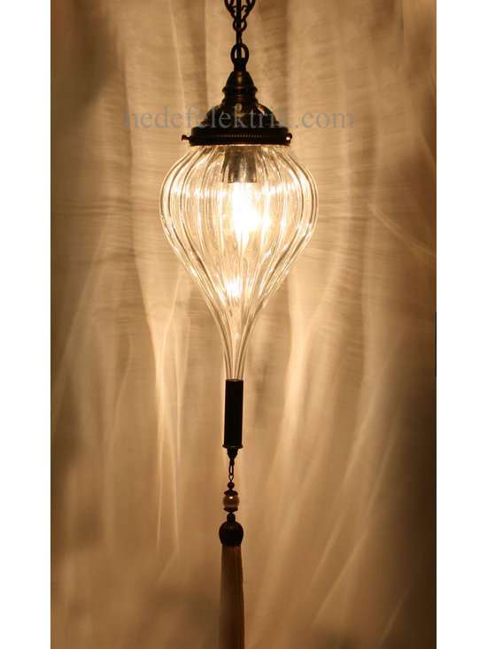 Turkish Style Blown Glass Ottoman Lighting - *Code:  HD-04159_17