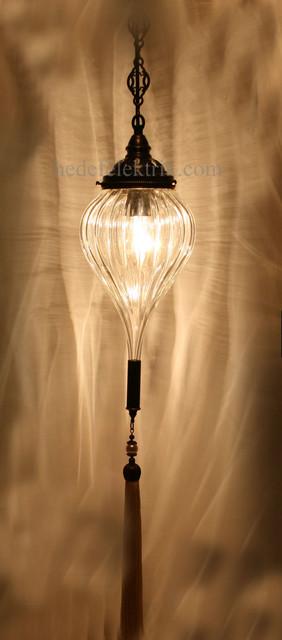 Turkish Style Blown Glass Ottoman Lighting Mediterranean
