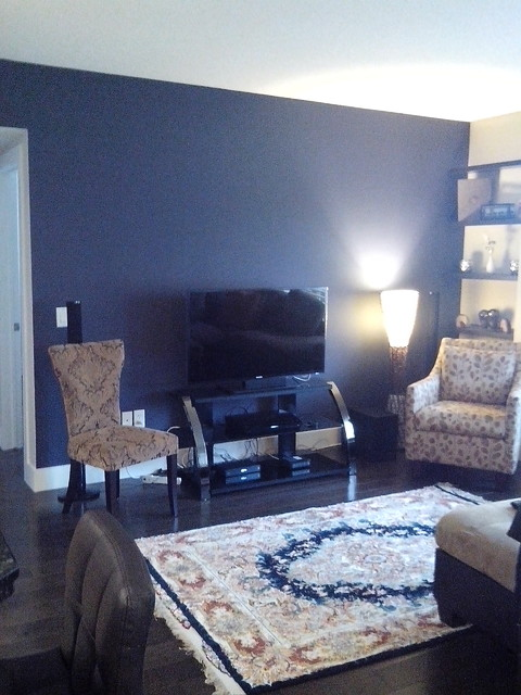 Feature Walls Modern Living Room Other Metro By First Rate Calgary P