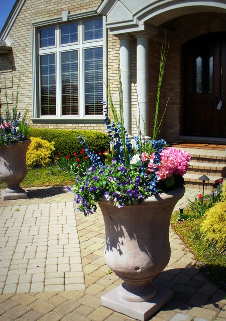 Spring & Summer Containers traditional-porch