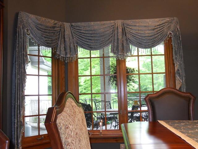Photos Of Bay Window Treatments: Bay And Corner Windows
