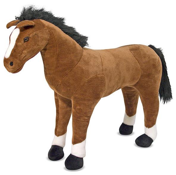 Melissa & Doug Plush Horse contemporary-kids-toys