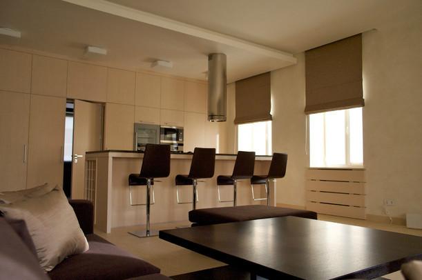 BROWN BLOCK contemporary-kitchen