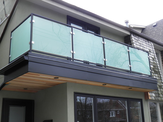 Modern Glass Railings Modern Home Fencing And Gates