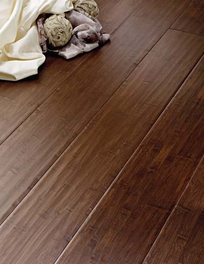 Solid bamboo  wood flooring