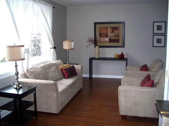 Staged Property traditional-family-room