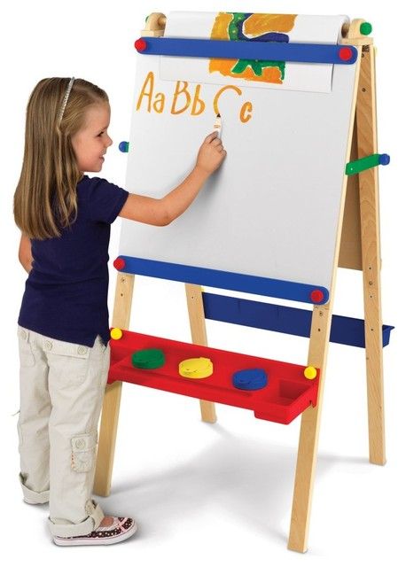 Artist Easel with Paper - KidKraft Furniture - 62028 contemporary-kids-toys
