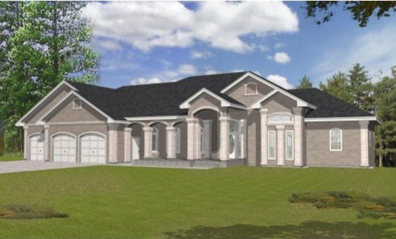 House Plan 112-155 traditional-exterior-elevation