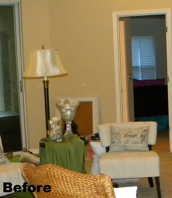 BEFORE:  Reading Nook transitional