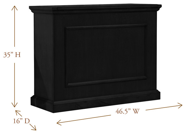 """Elevate TV Lift Cabinets for Flat Screen TV's Up To 42"""" traditional-home-electronics"""