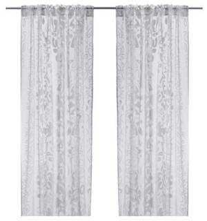 ofelia blad pair of curtains scandinave rideaux par ikea. Black Bedroom Furniture Sets. Home Design Ideas