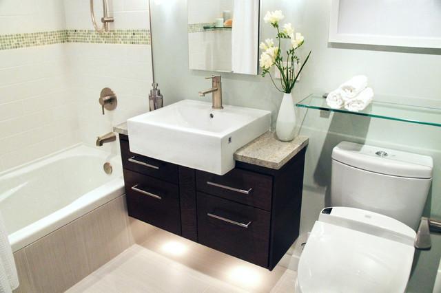 Our Favourite Bathroom Renos contemporary-bathroom