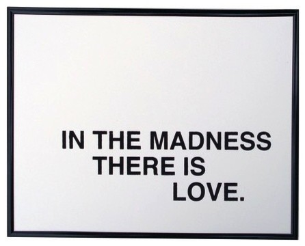 In the Madness... Poster by Fifiduvie modern-artwork