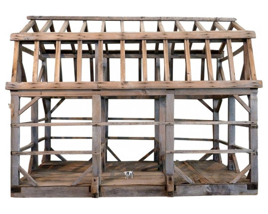 Architects Model Barn - Skeleton. Quite right in its form. Unsure of the age, at least turn of the century.