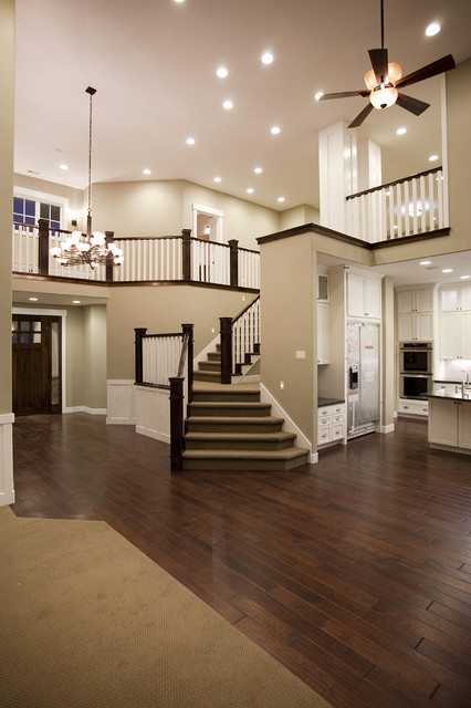 Candlelight Homes - Custom Home - Draper, UT traditional-staircase
