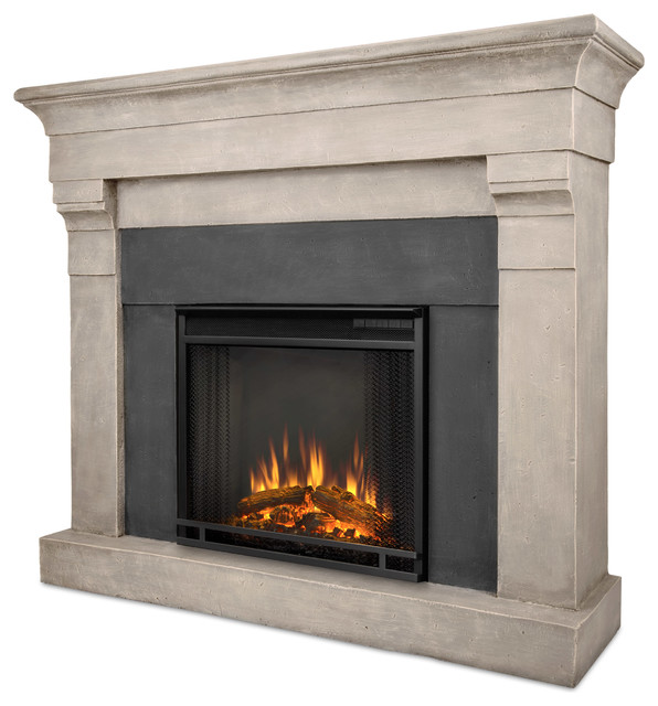Cast Stone Electric Fireplaces 596 x 640