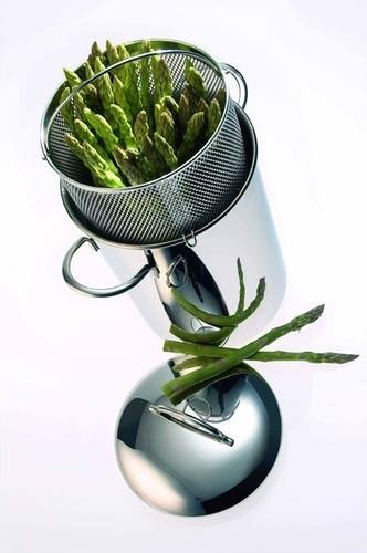 "Resto 6.3"" Asparagus / Corn / Pasta Cooker Insert modern-slow-cookers"