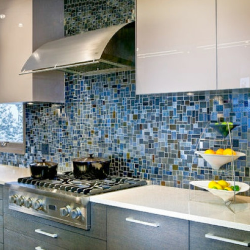 tile used in this fun backsplash pulled from houzz contemporary