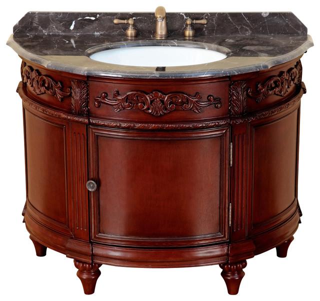 "42"" Bosconi T-3608 Single Vanity traditional-bathroom-vanities-and-sink-consoles"