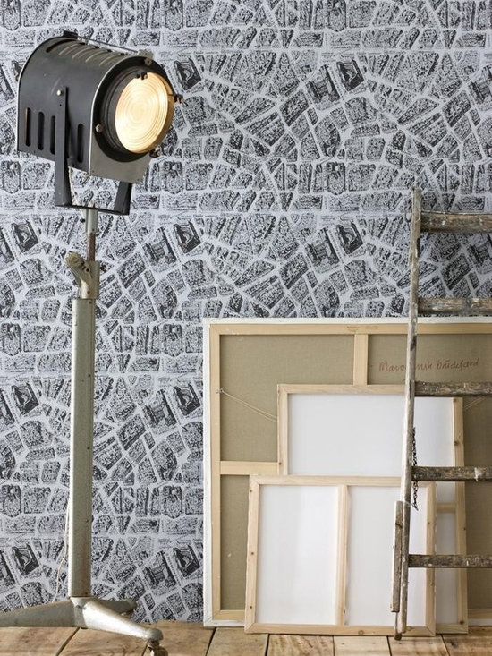 Ferm Living Voila Wallpaper - Ferm Living's Wallpaper is graphic & whimsical adding character, charm and personality to any room. Wallpaper has a striking effect and will without a doubt turn your room into a sanctuary.