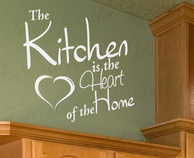 Heart-Of-The-Home Wall Art Wall Art Decal Sticker Quote