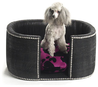 Cowgirl Chic Dog Bed traditional pet accessories