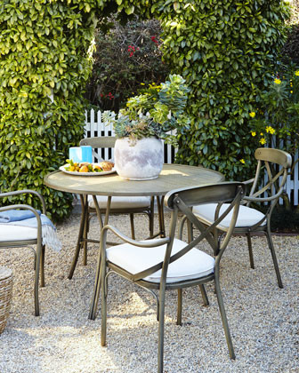 Bordeaux Outdoor Bistro Dining Furniture - traditional - patio ...