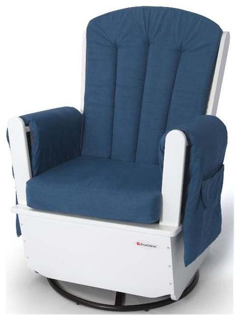 Foundations SafeRocker SS Glider Rocker Standard Glide contemporary-rocking-chairs