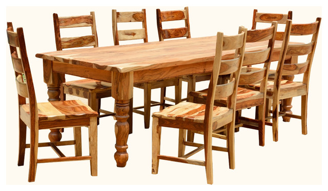 Dining Room Table Chair Set For 8 People Furniture Farmhouse Dining