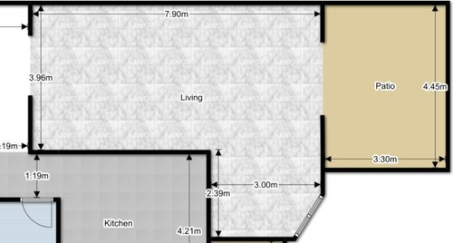Furniture Arrangement In L Shaped Living Dining Room
