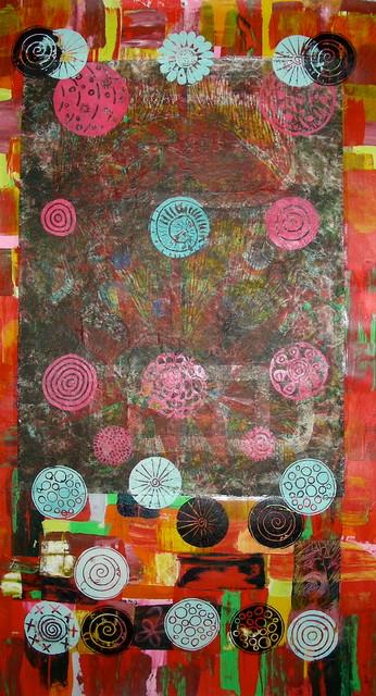 Art: tree and leaf patterns artwork