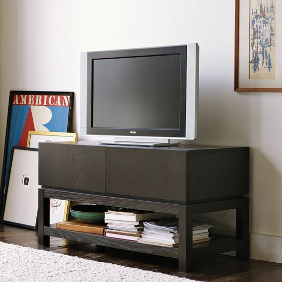 New Parsons Media Small Console Modern Entertainment