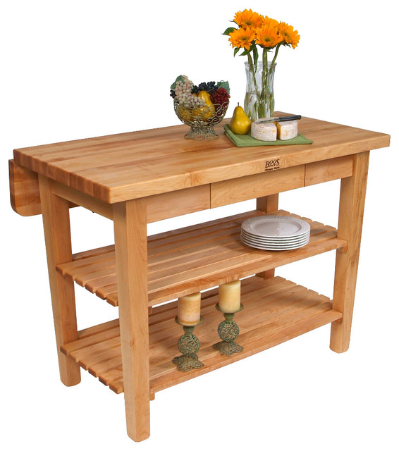 boos kitchen island bar butcher block table with drop leaf