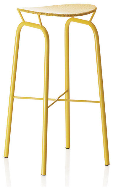 Mat 233 Got Nagasaki Stool Yellow Modern Bar Stools And