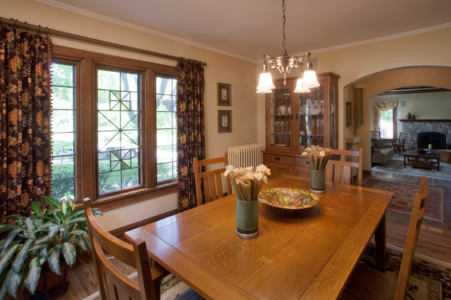 Historic Home Window Treatments Traditional Milwaukee