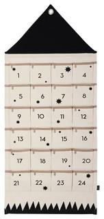 ferm living cloth advent calendar contemporary holiday. Black Bedroom Furniture Sets. Home Design Ideas