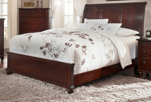 Broyhill hayden place sleigh bed 4647 27 set - Broyhill hayden place bedroom set ...