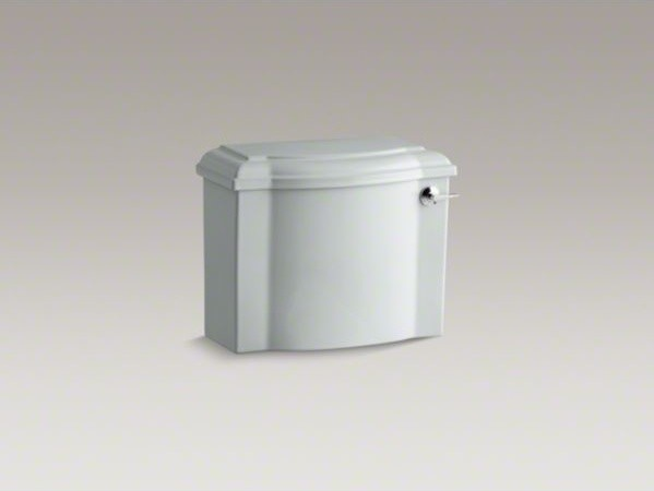 KOHLER Devonshire(R) 1.28 gpf tank with right-hand trip lever contemporary