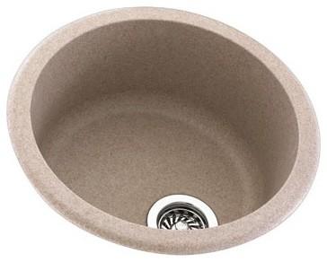 Metropolitan Round Bowl Kitchen Sink - Modern - Kitchen Sinks