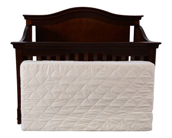 Bio Sleep Concept - 5 inch Natural Crib Mattress - For the best safety and sleep comfort of your new born or toddler, this  Certified All Natural and Organic Latex Crib Mattress, is a Bio Sleep Concept original. 6� Flippable Firm/Medium for Infants and Toddlers Organic Latex Crib Mattress includes: - 2� medium and 3� Firm layers of  Certified 100% Natural Latex - Zip on quilted Organic Cotton with Eco Valley Wool cover - Hypoallergenic - Fire Protection system is done through our Eco Valley wool natural  FR properties - Totally Chemical Free - Made in USA