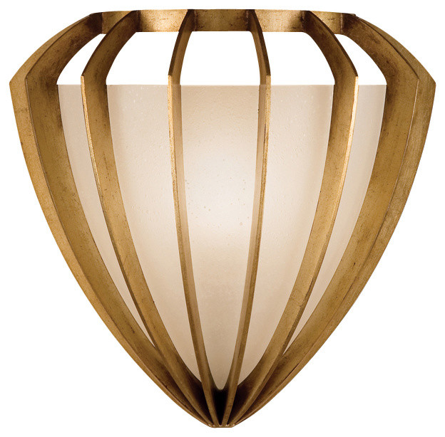 Wall Sconces Gold : Staccato Gold Sconce - Contemporary - Wall Sconces - by Masins Furniture