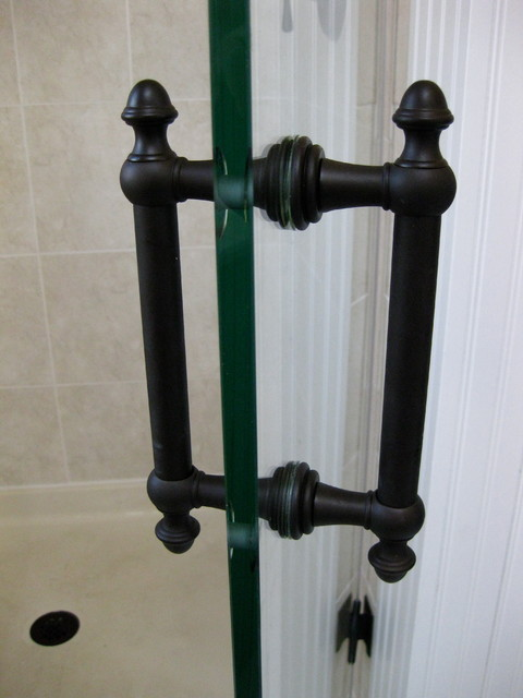 Oil Rubbed Bronze Glass Shower Door Handles New York