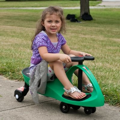 Lil Rider Green Responder Ambulance Wiggle Ride-On Car Riding Toy modern-kids-toys