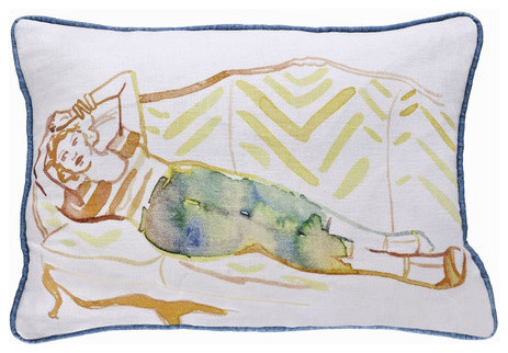 Boerum Hill Pillow eclectic-decorative-pillows
