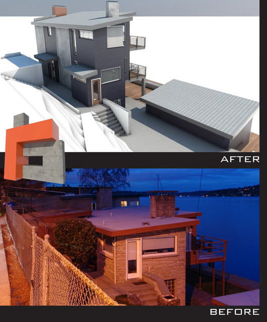 BEFORE AND AFTER IMAGES modern