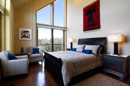 New Construction Custom Home traditional-bedroom