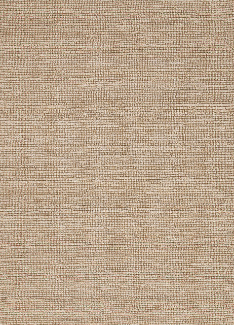 Natural Solid Pattern Hemp/Jute Ivory /White Woven Rug - CL01, 3.6x5.6 traditional-area-rugs