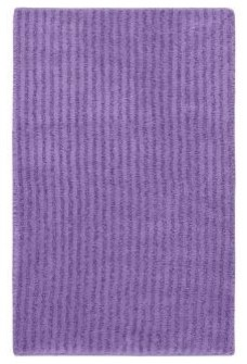 "Bath Mat: Accent Rug: Sheridan Purple 24"" x 40"" Bathroom contemporary-bath-mats"