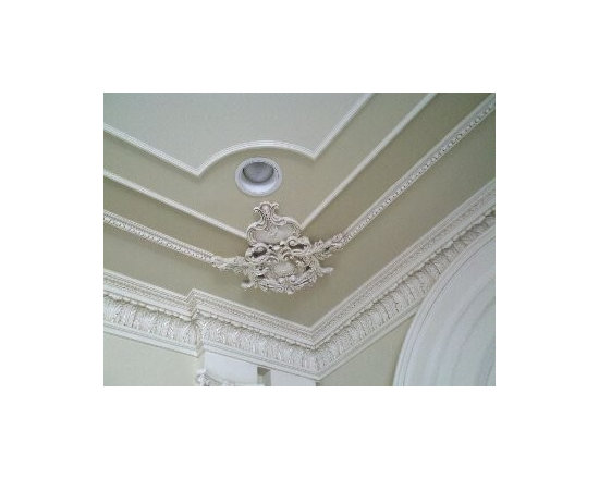 CUSTOM CEILINGS - Custom ceilings are really hot this year.  Dont leave your ceiling white when you can make a great first impression when you walk in.