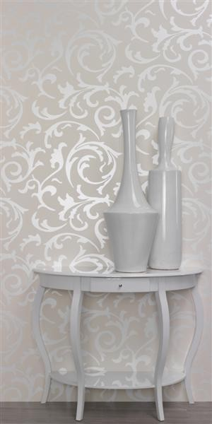 Brocante - Swirl contemporary-wallpaper
